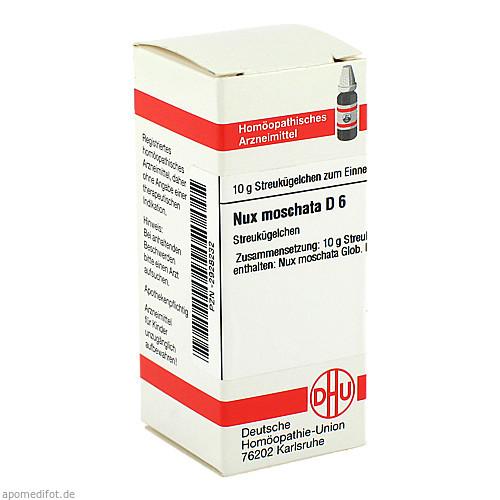 NUX MOSCHATA D 6, 10 G, Dhu-Arzneimittel GmbH & Co. KG