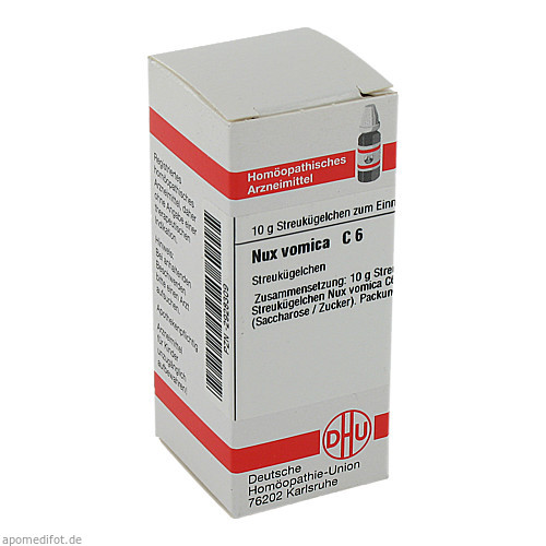 NUX VOMICA C 6, 10 G, Dhu-Arzneimittel GmbH & Co. KG