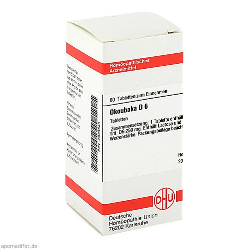 OKOUBAKA D 6, 80 ST, Dhu-Arzneimittel GmbH & Co. KG