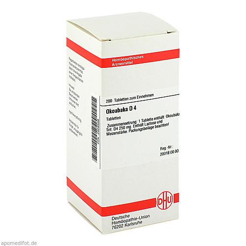 OKOUBAKA D 4, 200 ST, Dhu-Arzneimittel GmbH & Co. KG