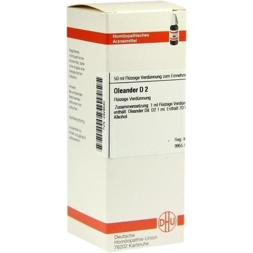 OLEANDER D 2 Dilution, 50 ML, DHU-Arzneimittel GmbH & Co. KG