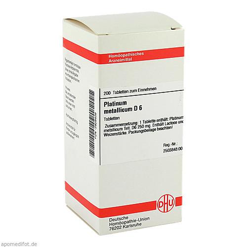 PLATINUM MET D 6, 200 ST, Dhu-Arzneimittel GmbH & Co. KG