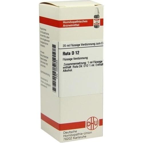 RUTA D12, 20 ML, Dhu-Arzneimittel GmbH & Co. KG