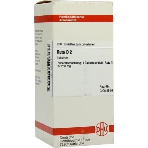 RUTA D 2, 200 ST, Dhu-Arzneimittel GmbH & Co. KG