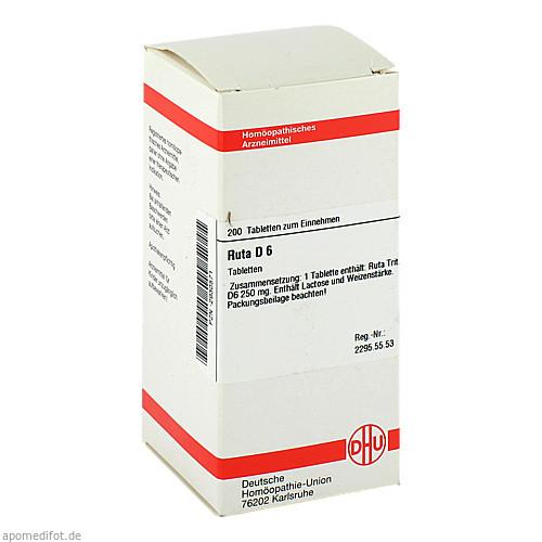 RUTA D 6, 200 ST, Dhu-Arzneimittel GmbH & Co. KG