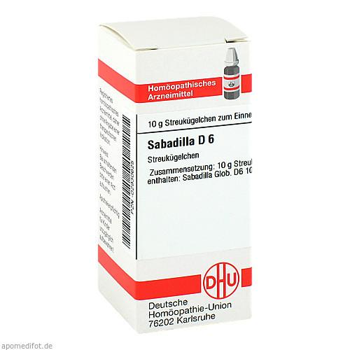 SABADILLA D 6, 10 G, Dhu-Arzneimittel GmbH & Co. KG