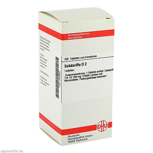 SABDARIFFA D 2, 200 ST, Dhu-Arzneimittel GmbH & Co. KG