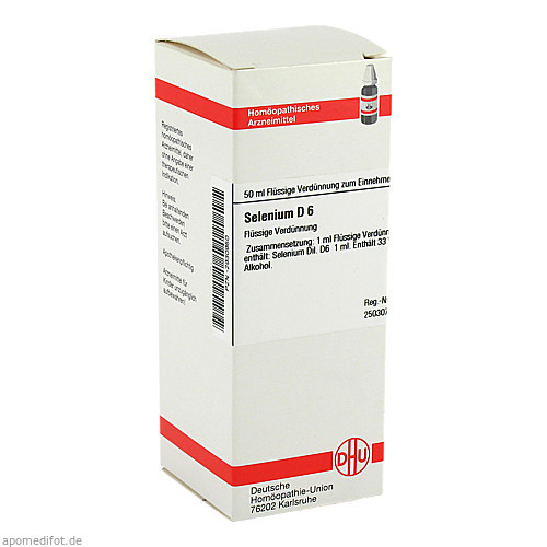 SELENIUM D 6, 50 ML, Dhu-Arzneimittel GmbH & Co. KG