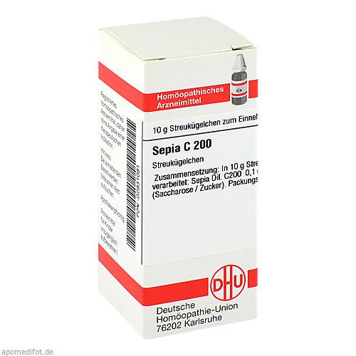 SEPIA C200, 10 G, Dhu-Arzneimittel GmbH & Co. KG