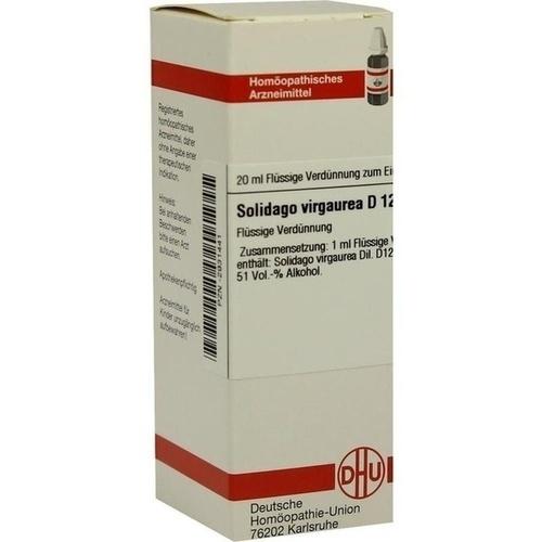 SOLIDAGO VIRGA D12, 20 ML, Dhu-Arzneimittel GmbH & Co. KG