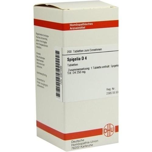 SPIGELIA D 4, 200 ST, Dhu-Arzneimittel GmbH & Co. KG