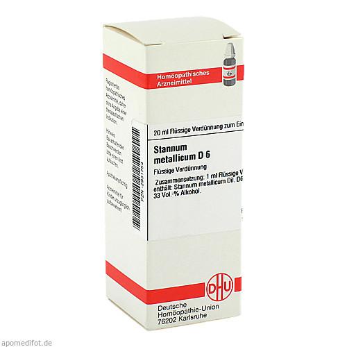 STANNUM MET D 6, 20 ML, Dhu-Arzneimittel GmbH & Co. KG