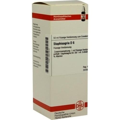 STAPHISAGRIA D 6, 50 ML, Dhu-Arzneimittel GmbH & Co. KG