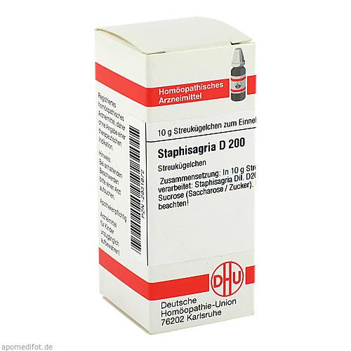STAPHISAGRIA D200, 10 G, Dhu-Arzneimittel GmbH & Co. KG