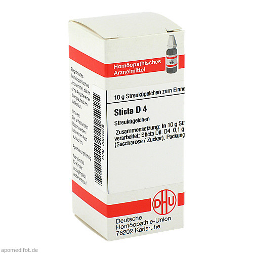 STICTA D 4, 10 G, Dhu-Arzneimittel GmbH & Co. KG