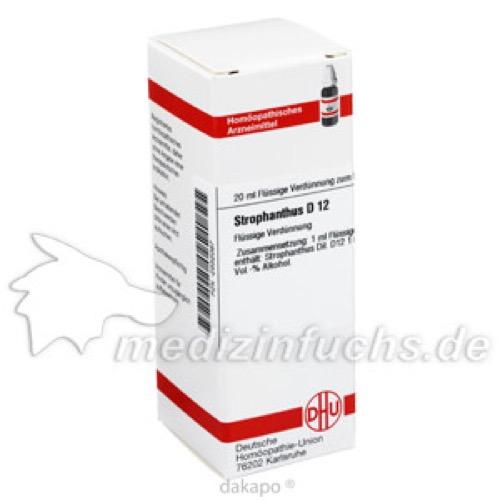 STROPHANTHUS D12, 20 ML, Dhu-Arzneimittel GmbH & Co. KG