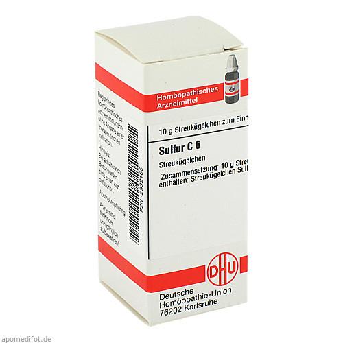 SULFUR C 6, 10 G, Dhu-Arzneimittel GmbH & Co. KG