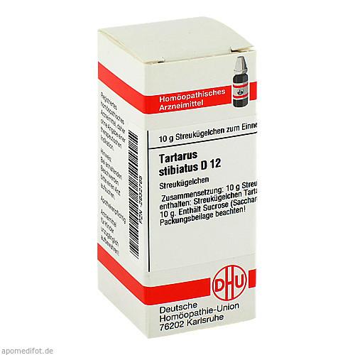 TARTARUS STIBIATUS D12, 10 G, Dhu-Arzneimittel GmbH & Co. KG