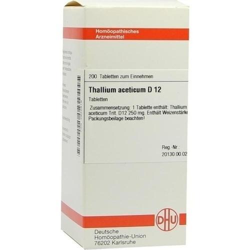THALLIUM ACET D12, 200 ST, Dhu-Arzneimittel GmbH & Co. KG