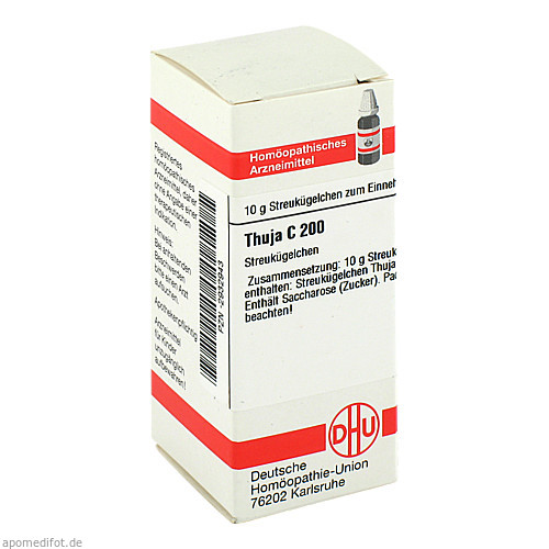 THUJA C200, 10 G, Dhu-Arzneimittel GmbH & Co. KG