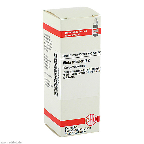 VIOLA TRICOLOR D 2, 20 ML, Dhu-Arzneimittel GmbH & Co. KG