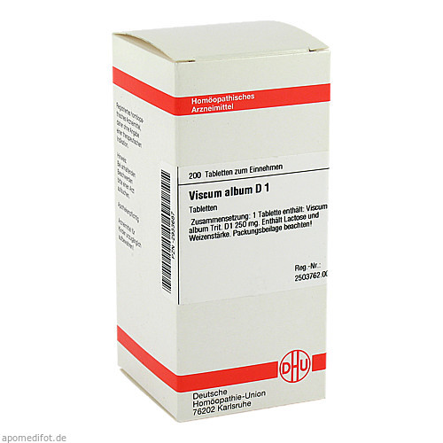 VISCUM ALB D 1, 200 ST, Dhu-Arzneimittel GmbH & Co. KG