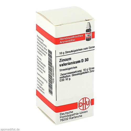 ZINCUM VALER D30, 10 G, Dhu-Arzneimittel GmbH & Co. KG