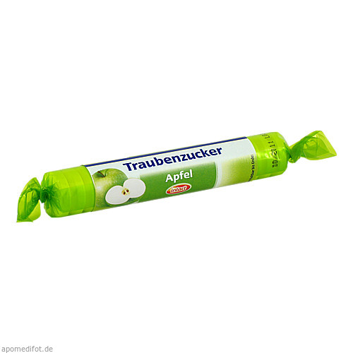 intact Traubenzucker Apfel Rolle Tabletten, 40 G, Sanotact GmbH