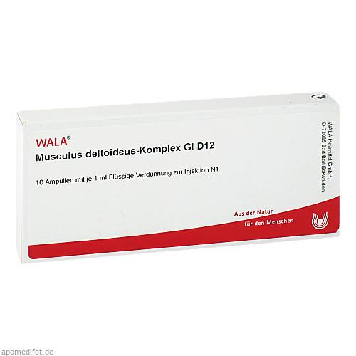 MUSCULUS DELTO-KOMP GL D12, 10X1 ML, Wala Heilmittel GmbH