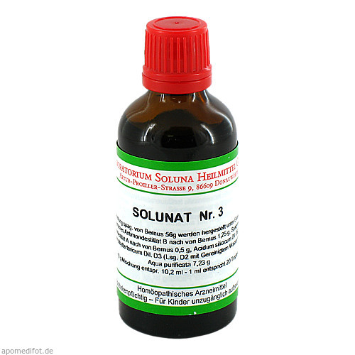 Solunat Nr. 3, 50 ML, Laboratorium Soluna Heilmittel GmbH