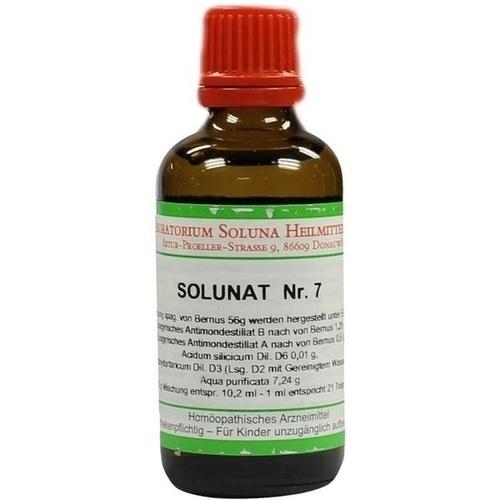 Solunat Nr. 7, 50 ML, Laboratorium Soluna Heilmittel GmbH