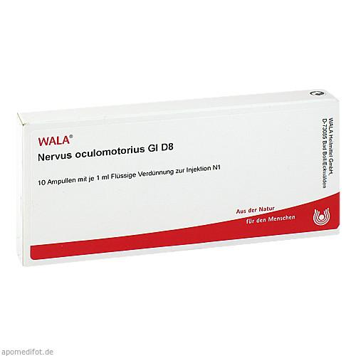 NERVUS OCULOMOTORIU GL D 8, 10X1 ML, Wala Heilmittel GmbH