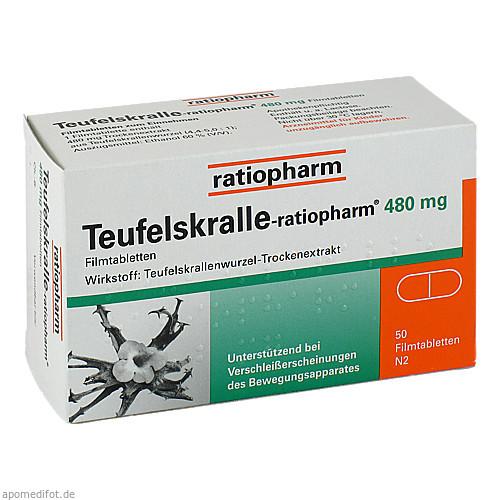 Teufelskralle-ratiopharm, 50 ST, ratiopharm GmbH
