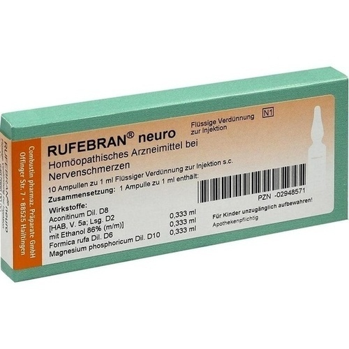 RUFEBRAN neuro, 10 ST, COMBUSTIN Pharmazeutische Präparate GmbH
