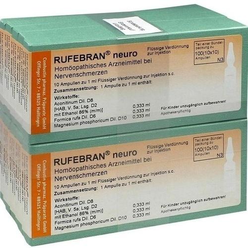 RUFEBRAN neuro, 100 ST, Combustin Pharmaz. Präparate GmbH