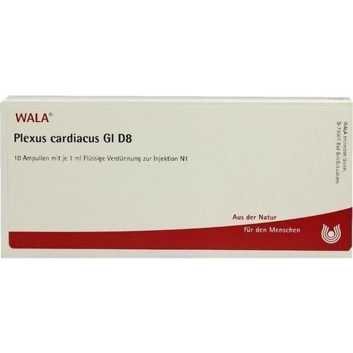 PLEXUS CARDIACUS GL D 8, 10X1 ML, Wala Heilmittel GmbH