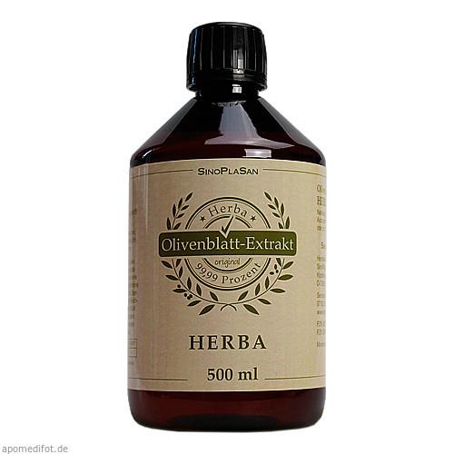 OLIVENBLATT-Extrakt Herba, 500 ML, SinoPlaSan AG