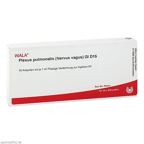 PLEXUS PUL (NER VA) GL D15, 10X1 ML, Wala Heilmittel GmbH
