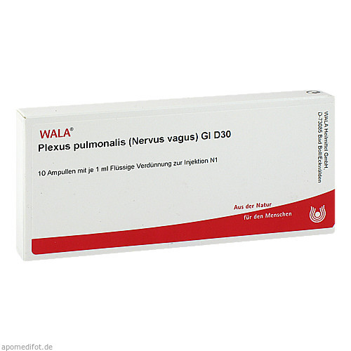 PLEXUS PUL (NER VA) GL D30, 10X1 ML, Wala Heilmittel GmbH