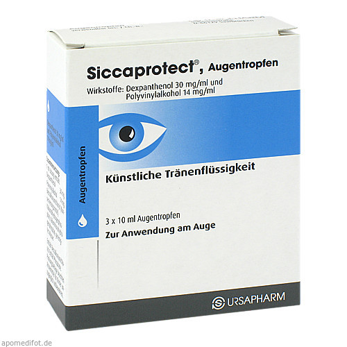 SICCAPROTECT, 3X10 ML, Ursapharm Arzneimittel GmbH