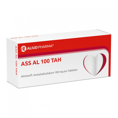 ASS AL 100 TAH, 50 ST, Aliud Pharma GmbH