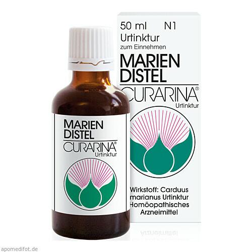 MARIENDISTEL CURARINA URTINKTUR, 50 ML, Harras-Pharma-Curarina GmbH