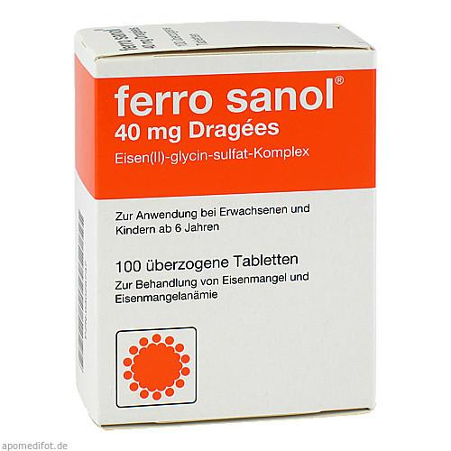 FERRO SANOL, 100 ST, UCB Pharma GmbH