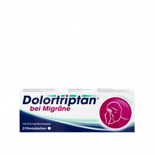 Dolortriptan bei Migräne, 2 ST, Johnson & Johnson GmbH