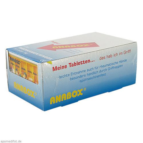 ANABOX Tagesbox weiß, 1 ST, WEPA Apothekenbedarf GmbH & Co KG
