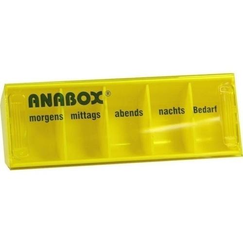 ANABOX-Tagesbox gelb, 1 ST, WEPA Apothekenbedarf GmbH & Co KG
