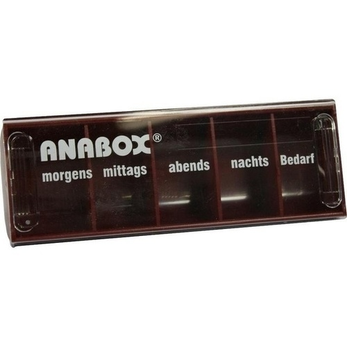ANABOX-Tagesbox rot, 1 ST, WEPA Apothekenbedarf GmbH & Co KG