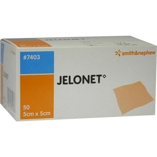 JELONET 5CMX5CM PARAFFIN STERIL, 50 ST, Smith & Nephew GmbH