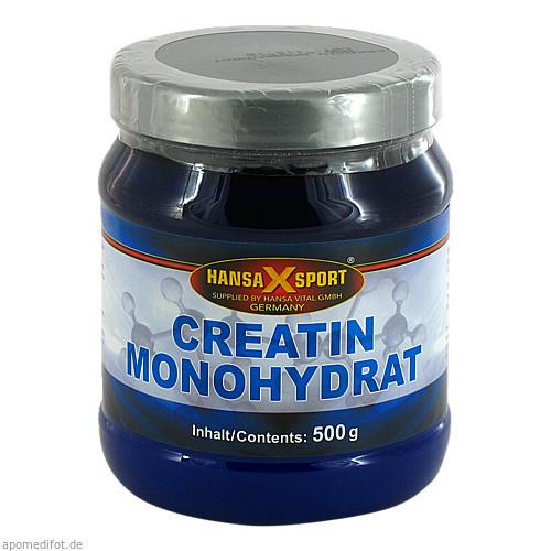 Creatin monohydrat Pulver, 500 G, Hansa Vital GmbH