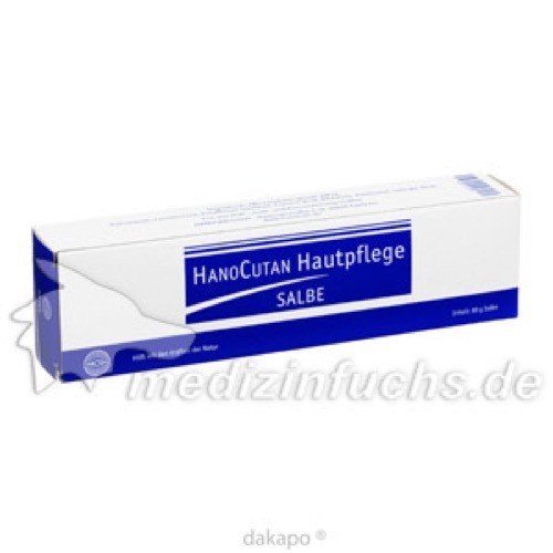 HanoCutan Hautpflege Salbe, 80 G, Hanosan GmbH